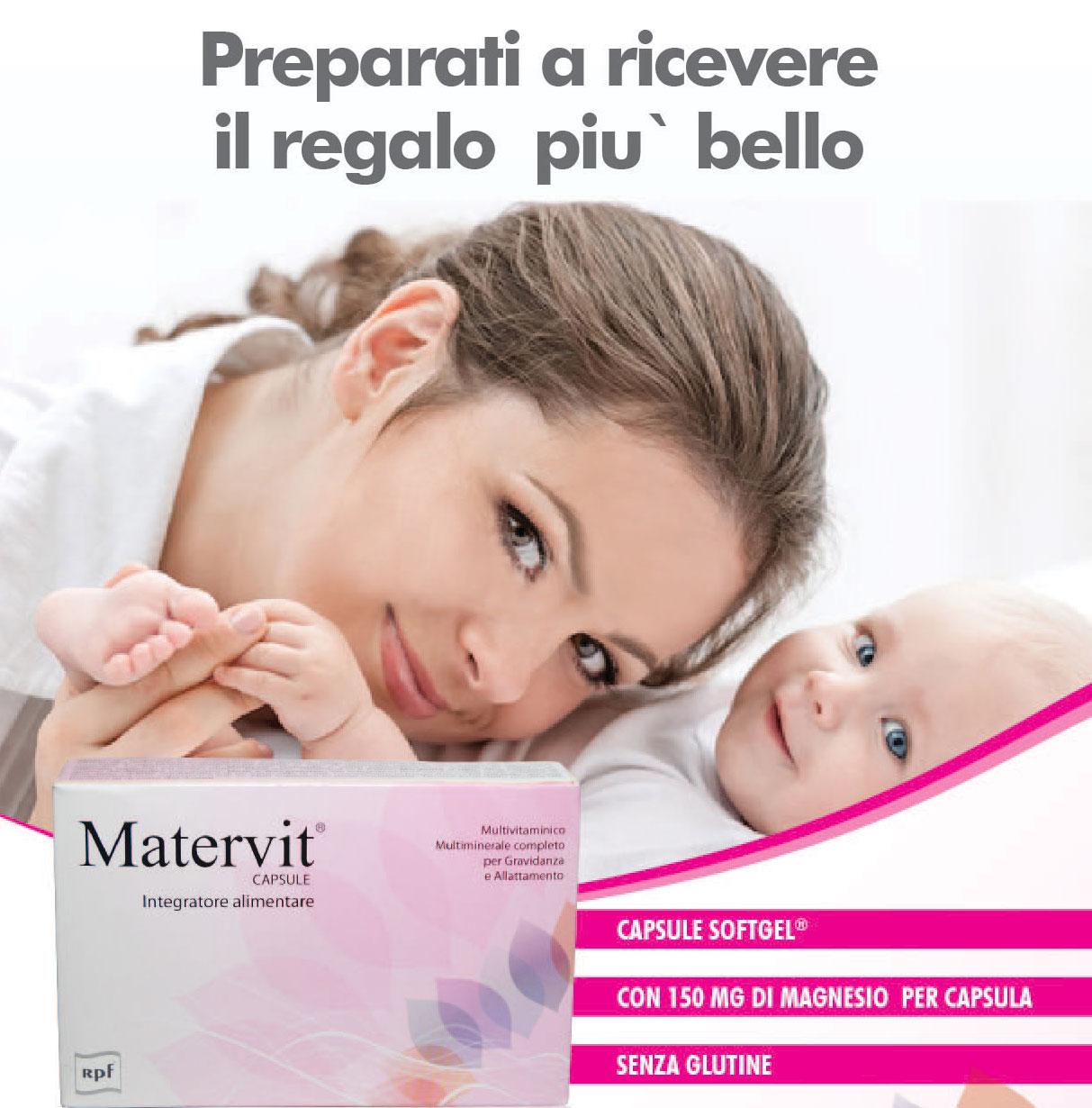 Matervit Gravidanza e Allattamento 1 capsula softgel